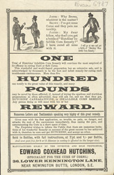 Advert For Edward Coxhead Hutchins Specialist Corn Cure